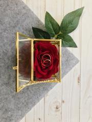 фотография Свадебная шкатулка для колец