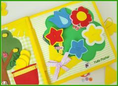 фотография Тактильная книга для девочек
