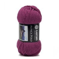 фото Фиолетовая пряжа Kartopu Alpaca Polo