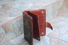фотография Кошелёк - портмоне из натуральной кожи