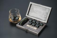 "фото Набор камней для виски ""GREEN EDITION"""