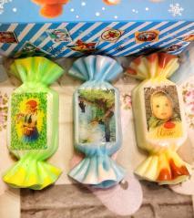 фото Новогоднее мыло конфеты