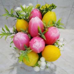 фото Мыло ручной работы Тюльпаны