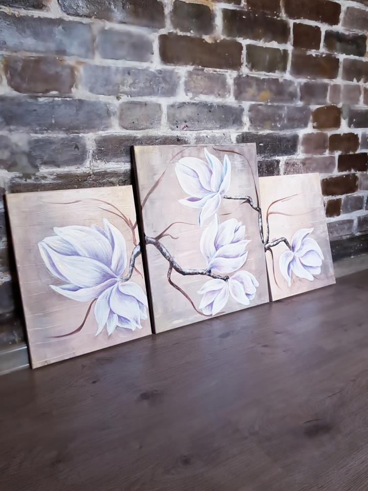 """фото Картина """"Magnolia"""""""