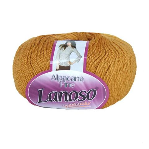 Золотая пряжа Lanoso Alpacana Fine 910