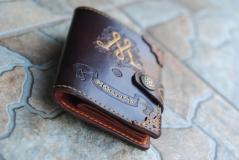 фото Кошелёк - портмоне из натуральной кожи