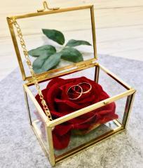 изображение Свадебная шкатулка для колец