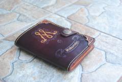 изображение Кошелёк - портмоне из натуральной кожи