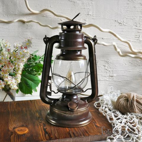 Электрическая Керосиновая лампа ночник