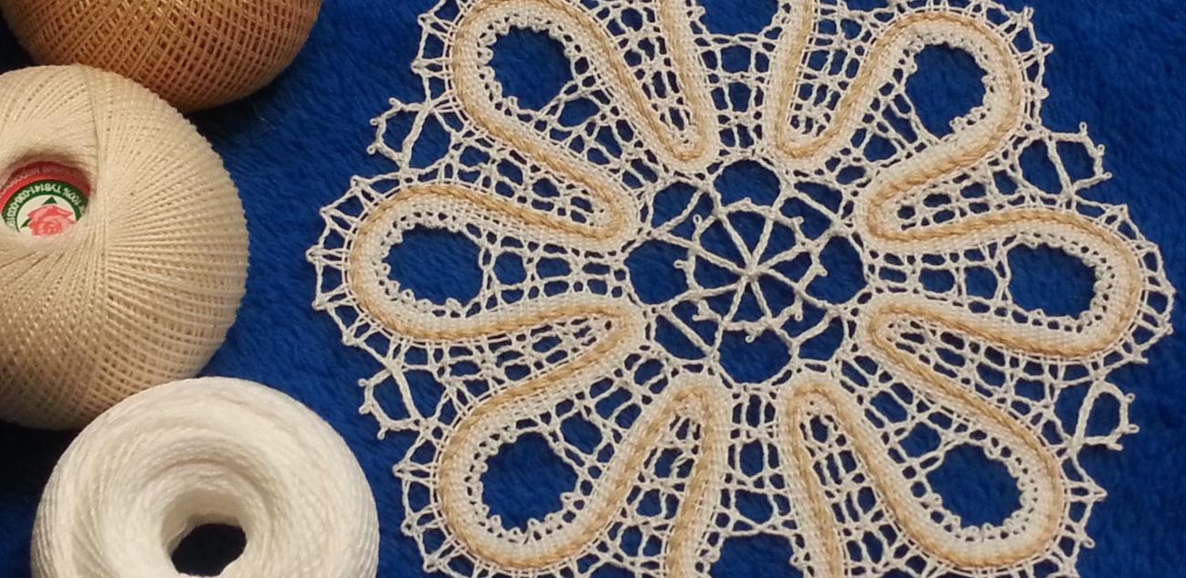 Фото для материала: Плетение на коклюшках. История и с чего начать