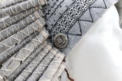 изображение Белый индейский Роуч из меха и перьев