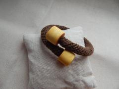фотография Браслет змейка в стиле минимализма
