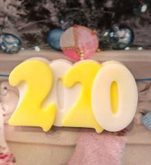 фотография Мышка на сыре МЫЛО Символ 2020 года