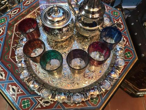 Марокканские стаканчики для чая