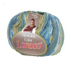 фото Меланжевая пряжа Lanoso Alpacana 4001