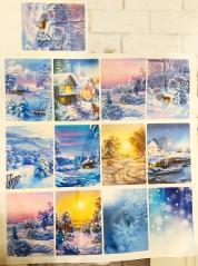 изображение Новогоднее мыло открытка