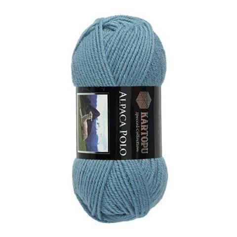 Голубая пряжа Kartopu Alpaca Polo K644