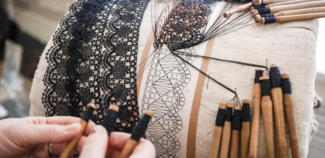 Фото для материала: Плетение на коклюшках. Основные приёмы и техники