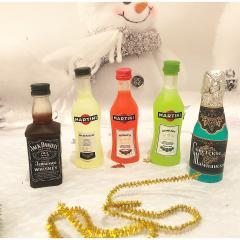 изображение Мыло бутылочки, новогодний сувенир