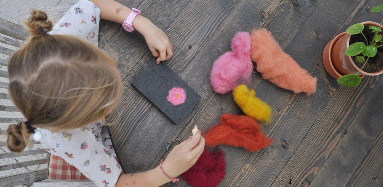Фото для материала: С какого возраста можно заниматься валянием с детьми?