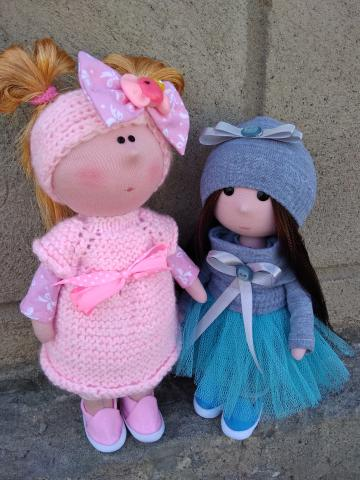 "Текстильная кукла ""Тильда""_doll_siadat"