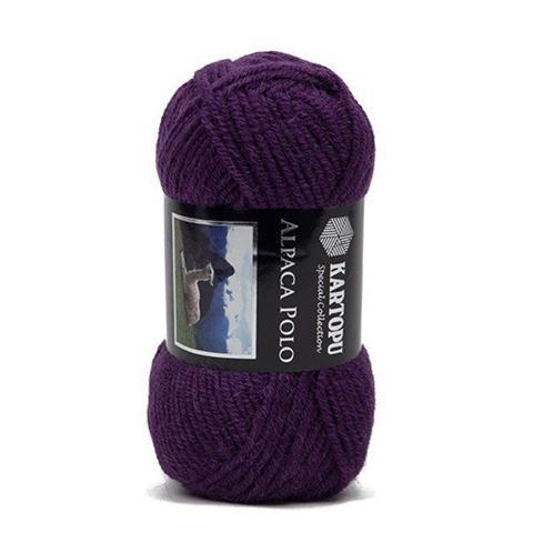 Фиолетовая пряжа Kartopu Alpaca Polo