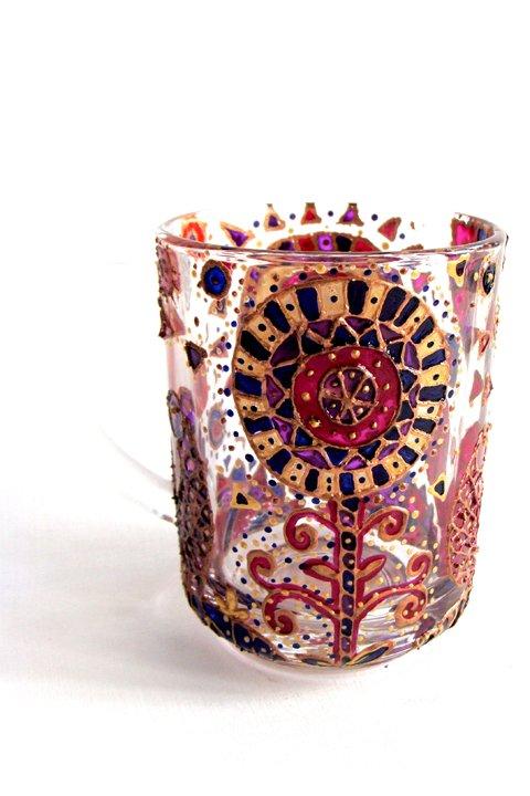 Декоративная роспись посуды на основе традиционных мотивов. 8+