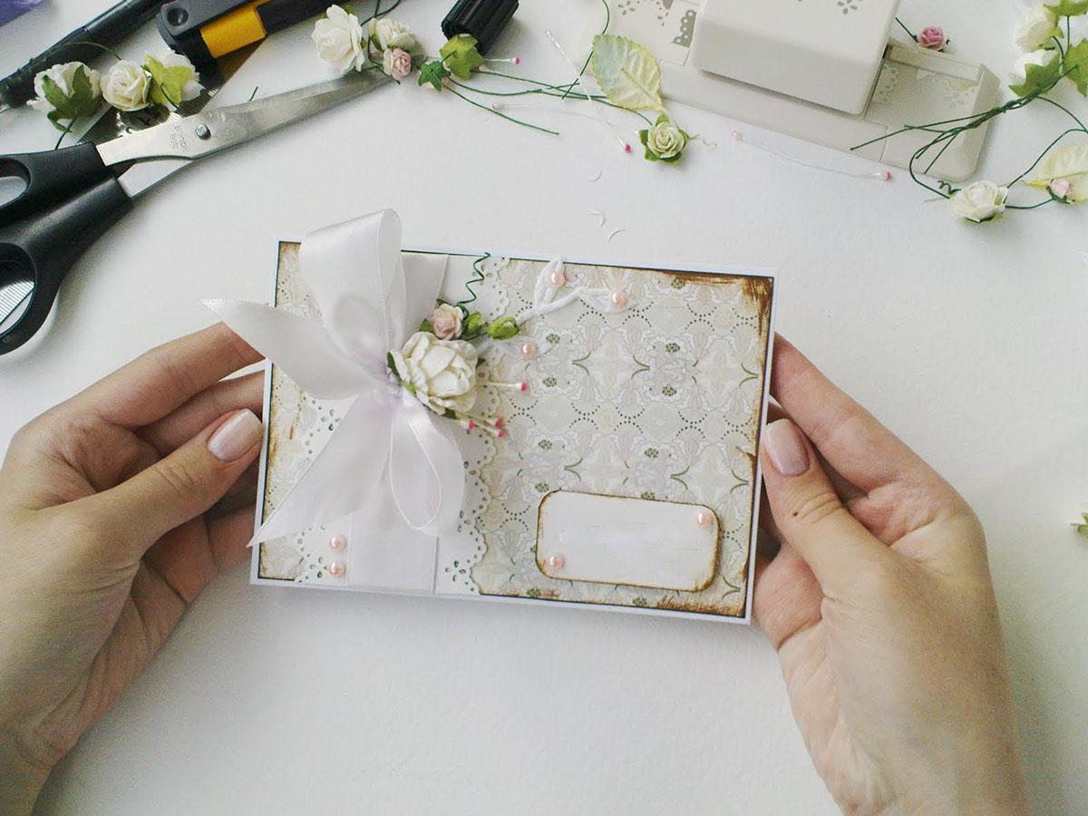Разработка открытки из фото
