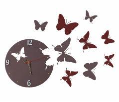 "фото Часы ""Бабочки"""