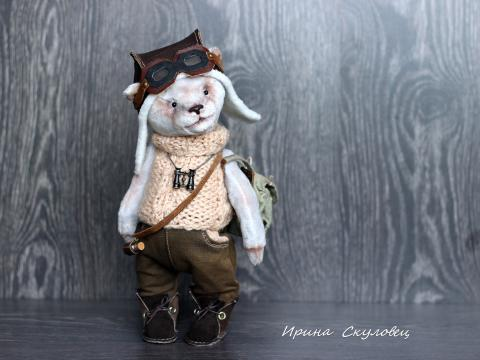 Тедди мишка-пилот