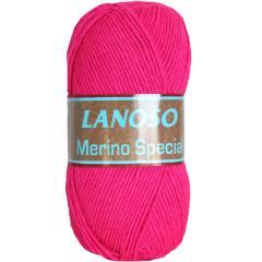 фото Розовая пряжа Lanoso Merino Special