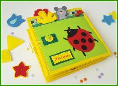 изображение Тактильная книга для девочек