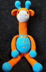фото Жираф игрушка амигуруми