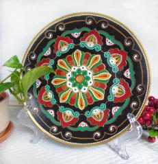 картинка Тарелка декоративная 24 см