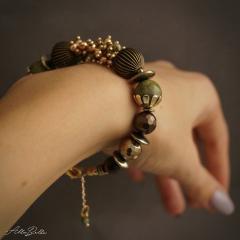 изображение Комплект браслет и серьги