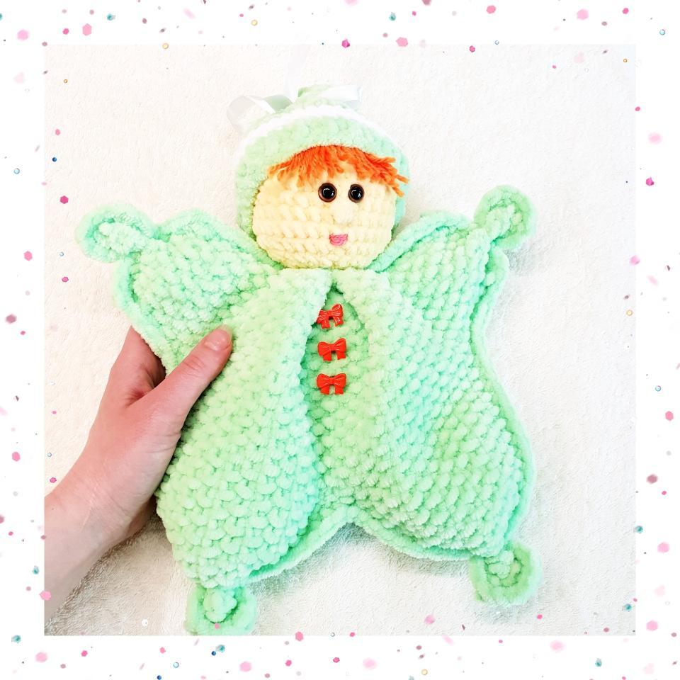 фото Вальдорфская кукла-бабочка Вилли-Винки