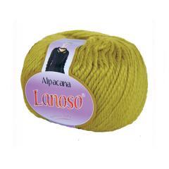 фото Горчичная пряжа Lanoso Alpacana 3018