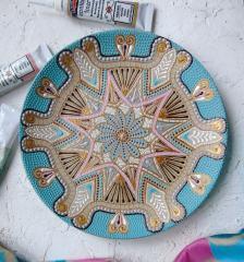 картинка Тарелка декоративная 20 см