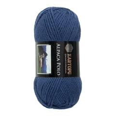 фото Синяя пряжа Kartopu Alpaca Polo K654