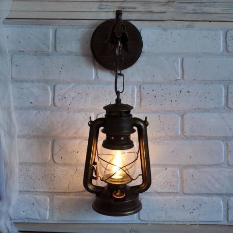 Бра в ретро стиле Керосиновая лампа